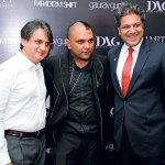 Ashish Anand, Gaurav Gupta, Aseem Chauhan, The launch of Gaurav Gupta's first store in Mumbai