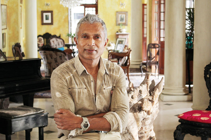 Ashok Ferrey, builder, personal trainer and writer