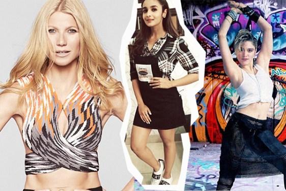 Gweneth Paltrow, Alia Bhatt, Madonna
