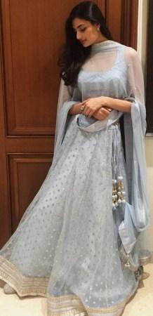 Athiya Shetty in Anita Dongre