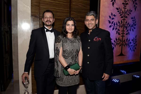Atul and Gayatri Ruia, Sanjay Kapoor