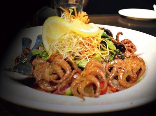 Octapus Salad, Hurricane's Grill