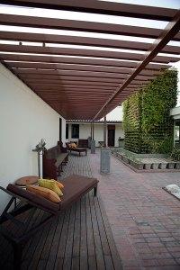 The Ayurveda terrace