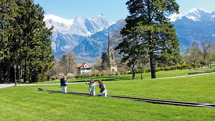 Bad Ragaz, Swiss Alps, Grand Resort Bad Ragaz, Rhine Valley