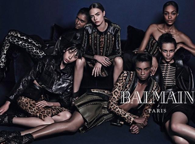 Balmain Fashion AW 2014 campaigns