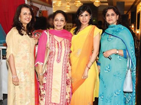 Balveer Singh, Rano Singh, Kanwarani Ritu Sinhji Wankaner, Vandana Mehra