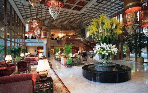 Opulent lobby