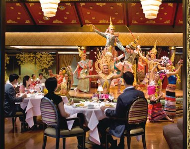Fine dining at Sala Rim Naam