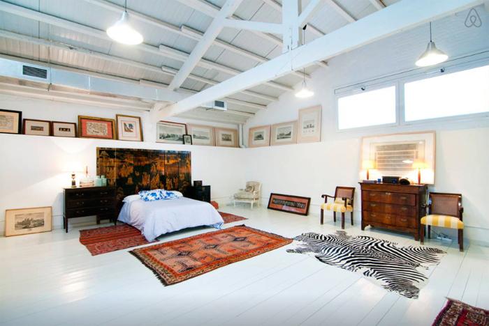 Airbnb, Art Flat Gallery, Art Gallery Stay, Art Gallery Turned American Loft, Art Ichol, art spaces, art-inspired, Barcelona, Berlin, Featured, Goa, Jaipur, Madhya Pradesh, Online Exclusive, The Artist's Studio, Tokyo, Travel, Village Studio