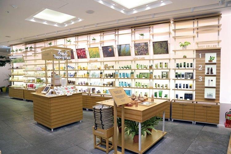 The Innisfree store at Jeju Island