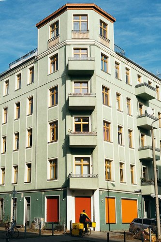 An Altbau building