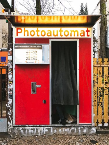 A Classic Berlin Photo Booth
