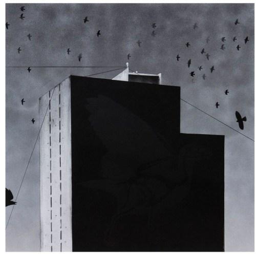 Black Painter 3 (Graffiti series), 2015