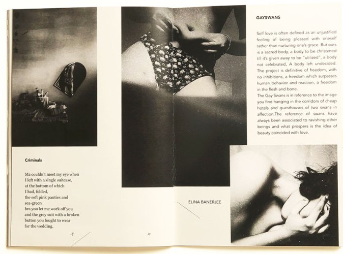 Poems by T with Photographs by Elina Banerjee