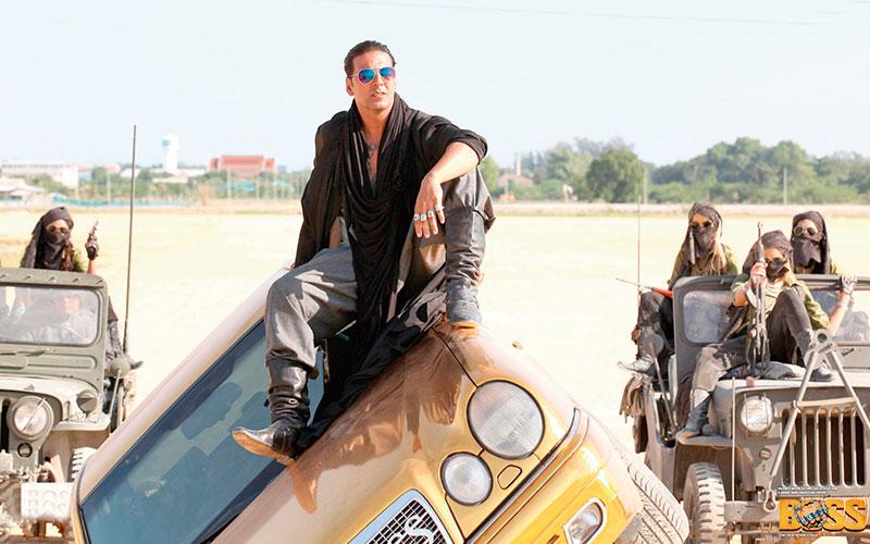 Akshay Kumar in Boss