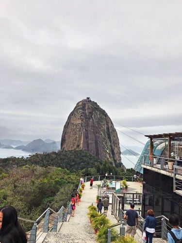 Cable-car ride to Sugarloaf mountain