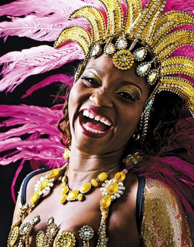 Passistas (professional samba dancers), Rio de Janeiro