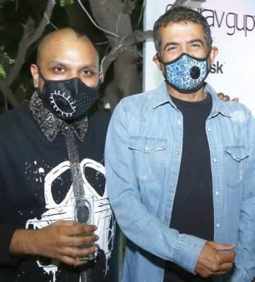 Gaurav Gupta (left)