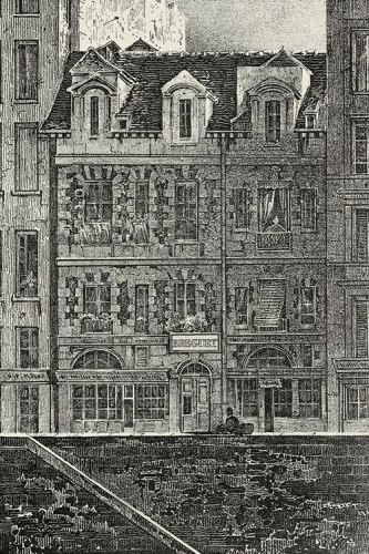 The Breguet workshops on Quai de l'Horloge in Paris (1775)