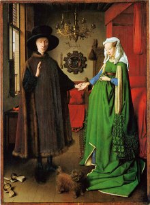 Flemish painting by Jan Van Eyck