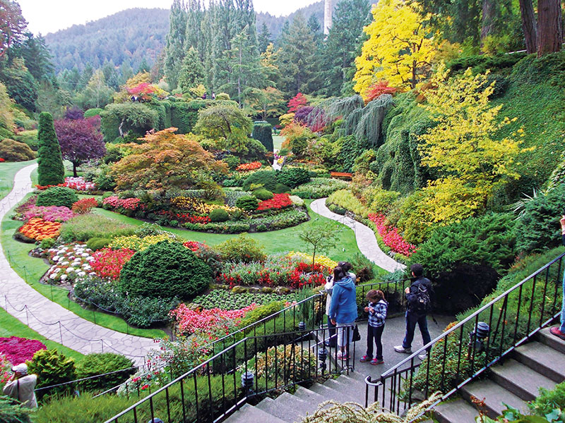 A canadian colour palette verve magazine indias premier luxury fairyland butchart gardens victoria thecheapjerseys Image collections