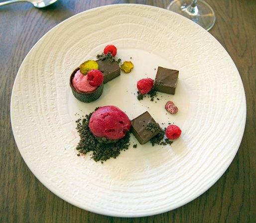 Dessert at Open Door Restaurant