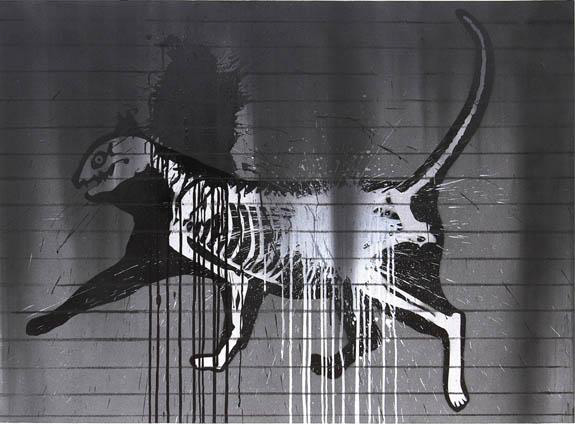Cat (Graffiti series), 2015