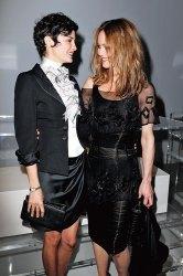 Audrey Tautou and Vanessa Paradis