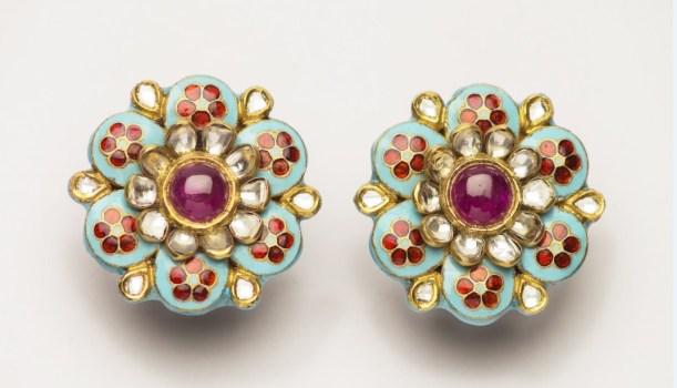 Earrings by Charu Sarawagi