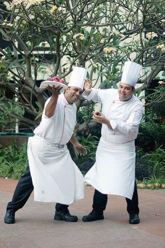 Chef Ravish Mishra and Chef Ashish Naranje