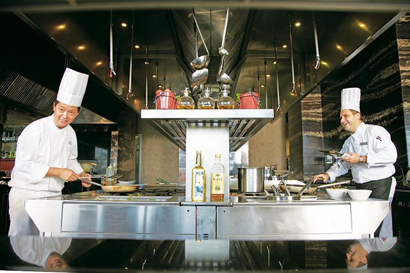 Chef Tso Kim Fu, Chef Enrico Luise