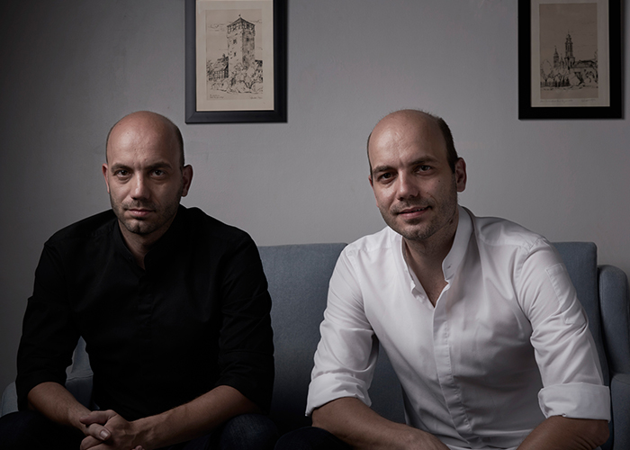 Left to right: Chefs Mathias And Thomas Sühring