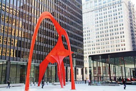 Alexander Calder's Flamingo
