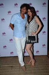 Chunky and Bhavana Pandey