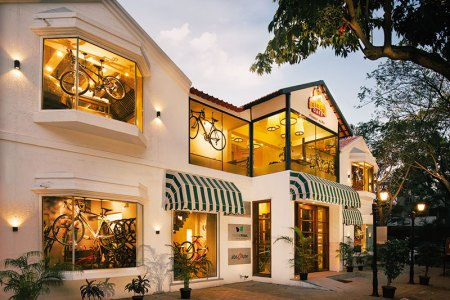 Ciclo Cafe: riding high