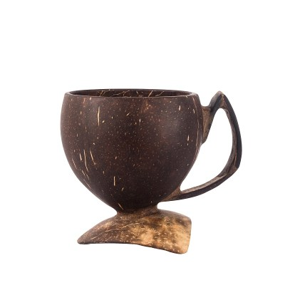 EVERWARDS: Coco Tea Cup, repurposed coconut shell