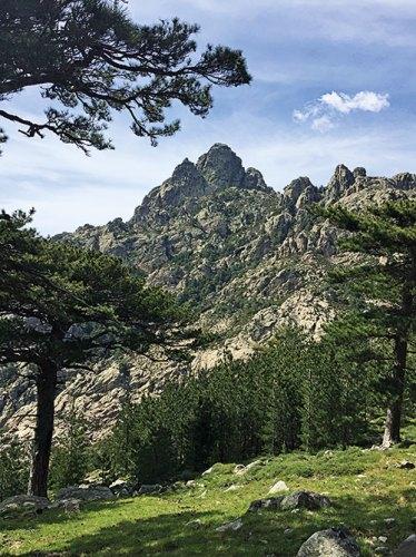 Col de Bavella mountains