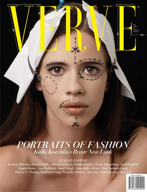 Kalki Koechlin's brave new look for Verve's July art special, Portraits
