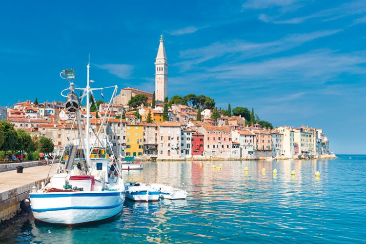 Panoramic vacation spot, Rovinj