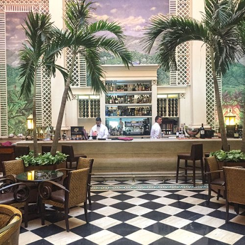 The swanky renovated Hotel Saratoga