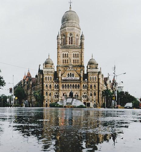 The Bombay Municipal Corporation opposite Chhatrapati Shivaji Terminus