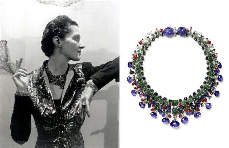 Daisy Fellowes and the Cartier Tutti Frutti necklace