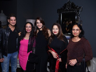 DJ Aqueel, Saba Ali Khan, Farah Ali Khan, Ramola Bachchan