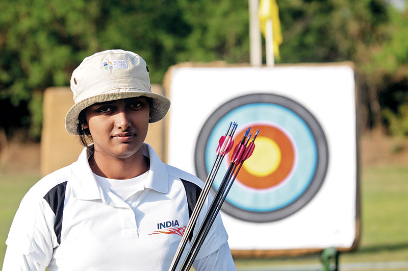Deepika Kumari, Archer