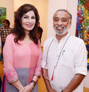 Devi and Dilip Cherian