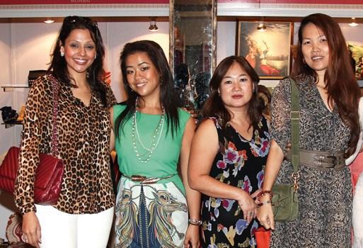 Dia Raichand, Jessica Nio, Ahn Ferrari, Sheryl Soong