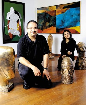 Dinesh and Minal Vazirani: No private spaces