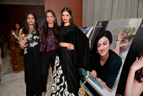 Divya Khosla Kumar with Roopa & Mitaali Vohra
