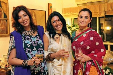 Divya Mohta, Reshma Merchant, Simone Singh