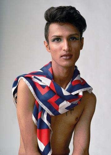 Silk twill scarf, from Hermès.
